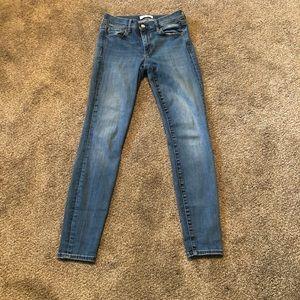 Women's Blue Skinny Jeans